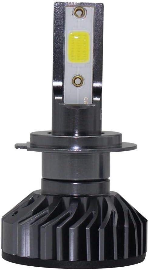 Set 2 Lámparas Frontales LED de 2pcs Coche EV8 Mini LED Faros 6500 K Xenon luz Auto Faro Auto y motopièces Repuestos Auto: Amazon.es: Hogar