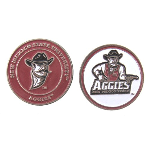 New Mexico State Aggies Double-Sided Golf Ball Marker