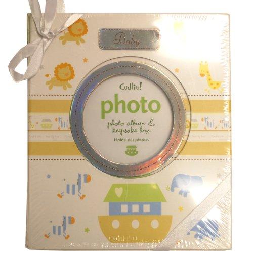 [해외]포옹의 노아 방주 사진 앨범 및 기념품 상자 / Cudlie Noahs Ark Photo Album and Keepsake Box