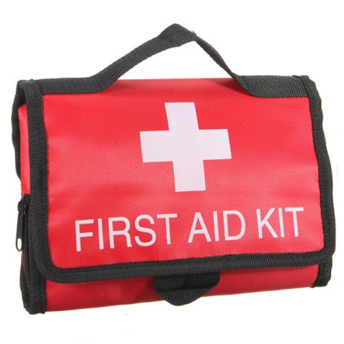 Outdoor Survival First Aid Kit Medical Bag Rescuing Equipment by IRISMARU
