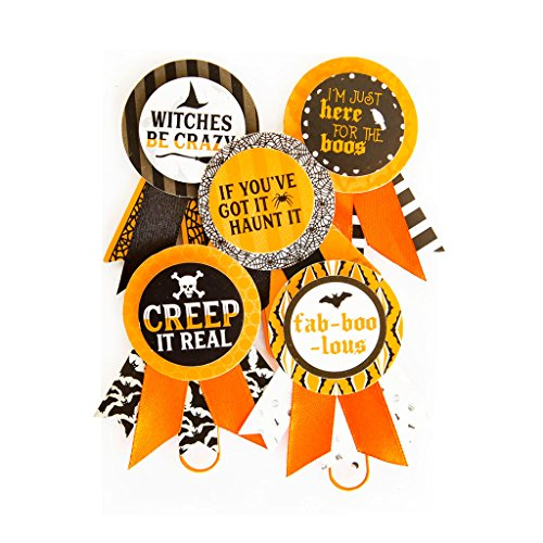 Halloween Rosette Paper Clips By Recollections -