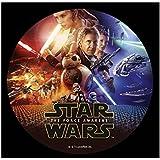 Disque en Sucre Star Wars 20cm - Décoration Gâteau Anniversaire - 084