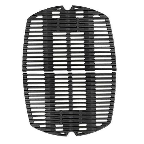 Uniflasy 7645 Cooking Grates for Weber Q200, Q220, Q2000 Series, Q2400 Gas Grill, Replace for Weber 65811