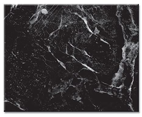Amazoncom Counterart Black Marble Design Glass Cutting Board 15 X