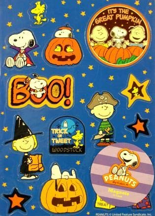 Peanuts Snoopy and Woodstock Halloween Magnet Set for $<!--$14.99-->