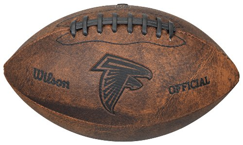 NFL Atlanta Falcons Vintage Throwback Football, 9-Inches ()
