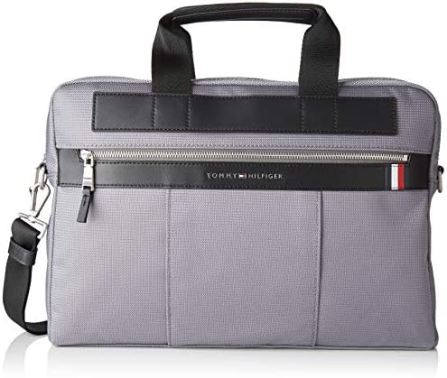 Tommy Hilfiger Herren Elevated Nylon Computer Bag Laptop Tasche, 1x1x1 cm