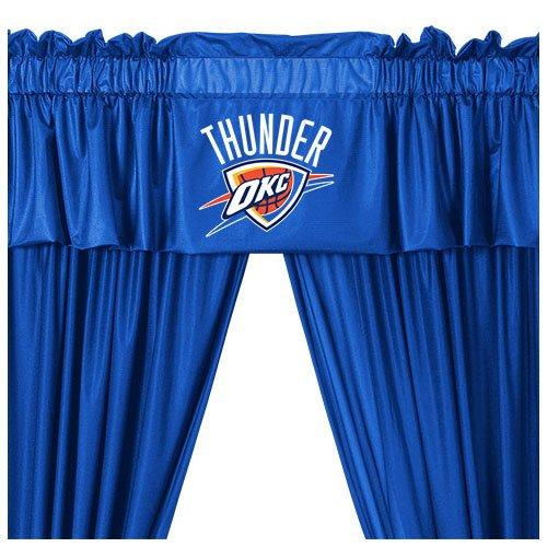 - NBA Oklahoma City Thunder Drape Window Valance Set