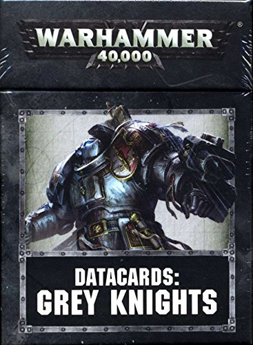 Games Workshop 60220107002 Grey Knights Datacards