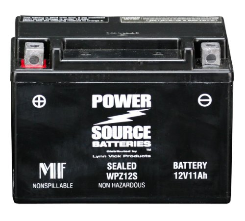 PowerSource 01-337 WPZ12S Sealed Battery -