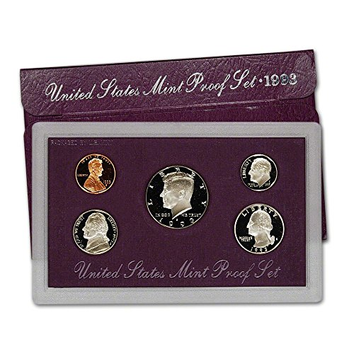 1993 United States Mint Proof Set Original Government Packaging Superb Gem Uncirculated ()