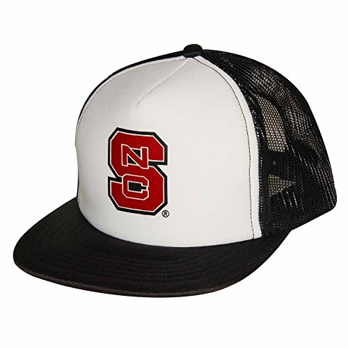 - NCAA North Carolina State Wolfpack Adult Unisex Foam Front Mesh Back Trucker Cap  Adjustable Size