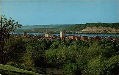 Ashland, Kentucky on the Ohio iver Ashland Original Vintage Postcard