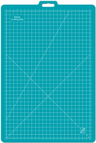Gridded Rotary Mat With Handle-26''X39'' W/23''X35'' G 1 pcs sku# 643932MA by June Tailor
