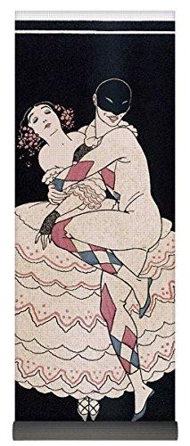 Commedia Dellarte Lovers Costumes (Pixels Yoga Mat w/ Bag