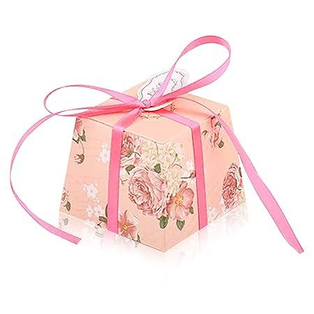 Piccole Bomboniere Per Matrimonio.Yfzyt Bomboniere Scatoline Carta Candy Scatole Regalo Piccole
