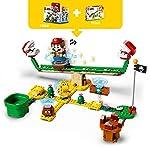 LEGO-Super-Mario-Scivolo-della-Pianta-Piranha-Pack-di-Espansione-Giocattolo-Set-di-Costruzioni-71365