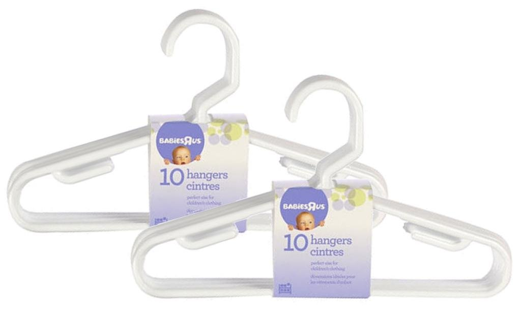 Babies R Us 20 Pack Hangers - White AX-AY-ABHI-63443