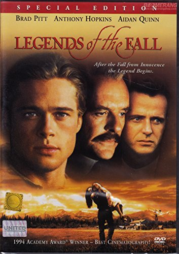 Legends of The Fall (DVD, Region 3, Edward Zwick) Henry Thomas, Julia Ormond