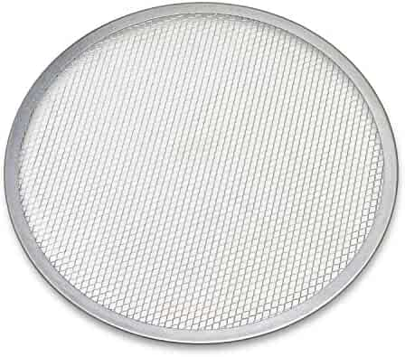 Honey-Can-Do 1054 Aluminum Pizza Screen, 14-Inches Diameter