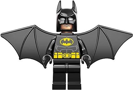 LEGO NEW BLACK BATMAN MINIFIGURE SUPER HERO WINGS PIECES PARTS