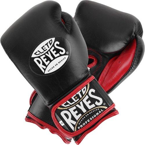 Cleto Reyes New Fit Cuff Training Gloves Black 14 oz.