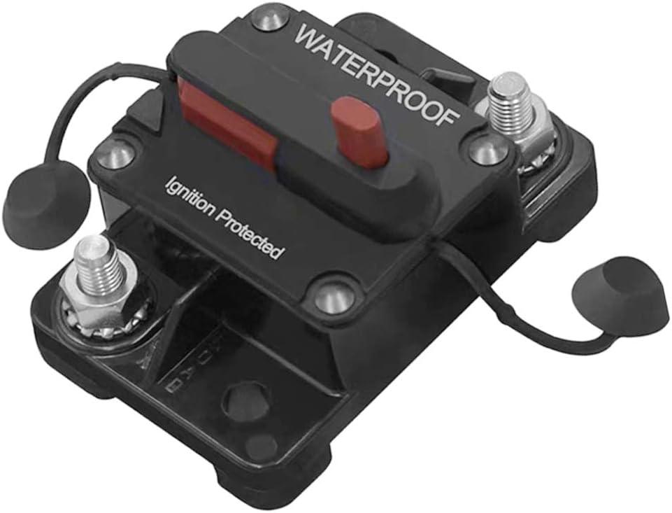 32V 40A 12V H HILABEE Disjoncteur Int/égr/é Fusible Support Audio de Voiture pour Protection de Syst/ème
