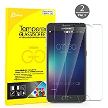 Galaxy Note 5 Screen Protector, JETech 2-Pack Premium Tempered Glass Screen Protector Film for Samsung Galaxy Note 5 - 0867