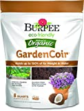 Burpee Natural & Organic GardenCoir, 8 Quart, ((1 Pack)