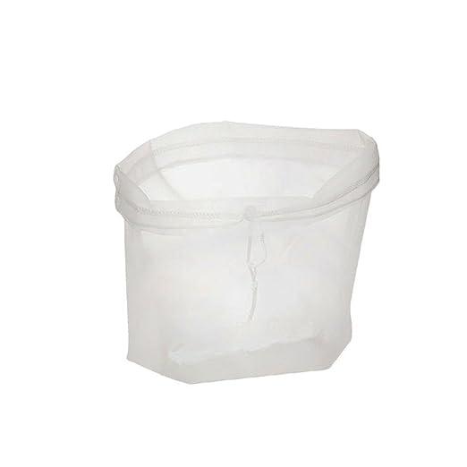 Queta Versátil Bolsa de filtro ideal para leche, zumos y suavizar verduras y frutas 10 cm x 20 cm