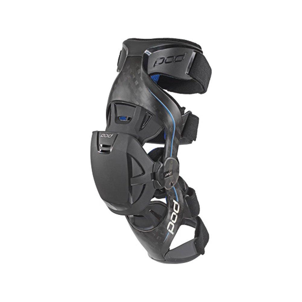 POD Unisex-Adult K8 Knee Brace (Carbon/Blue, X-Large) (Pair) - K8013-017-XL