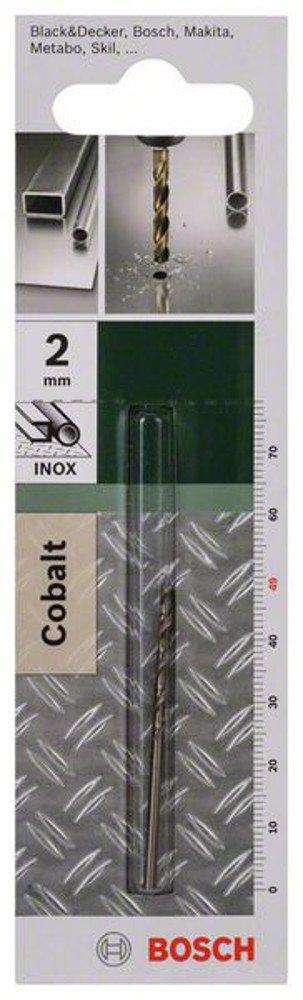 Bosch  2609255082 Foret à métaux rectifié HSS-Co DIN 338 - Longueur 125 mm - Diamètre 9, 5 mm