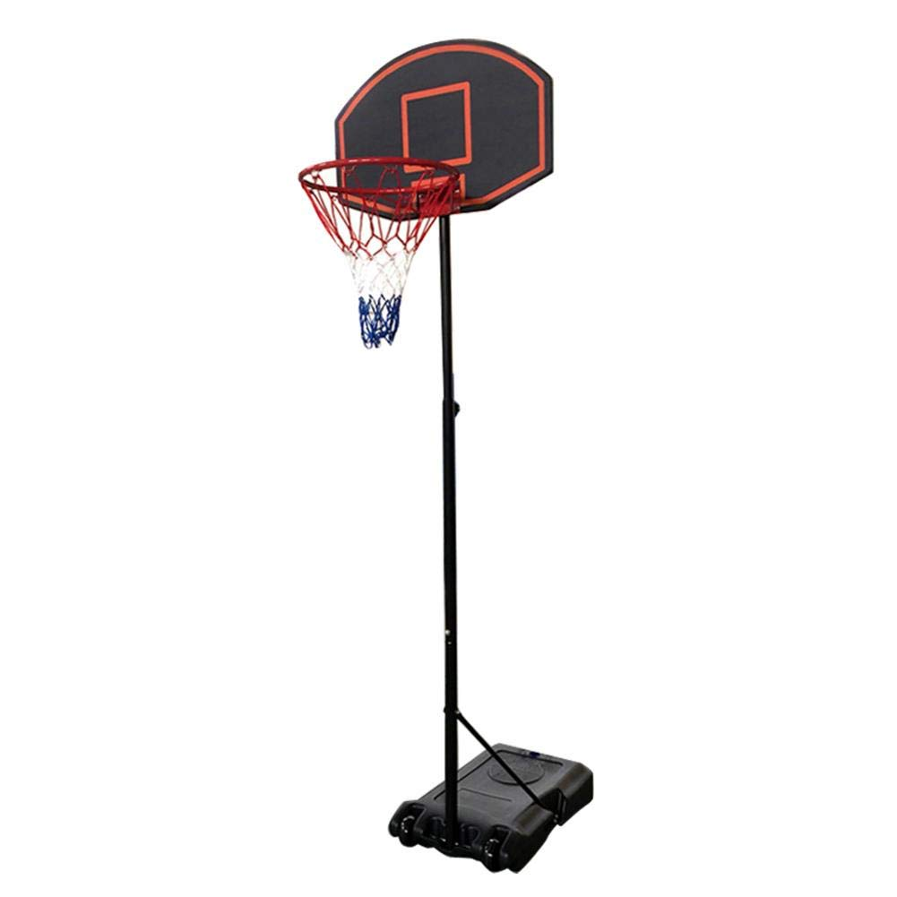 Bulary Black & Red Portable Removable Adjustable Teenager Basketball Rack by Bulary (Image #1)