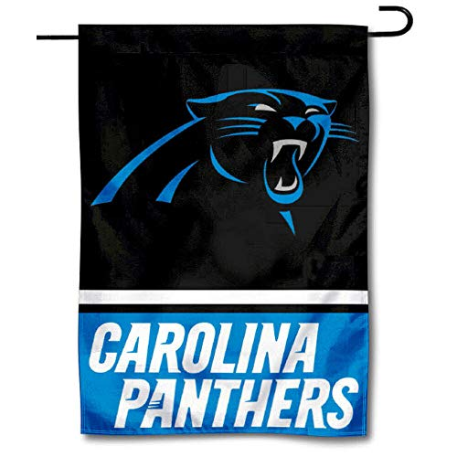 WinCraft Carolina Panthers Double Sided Garden -