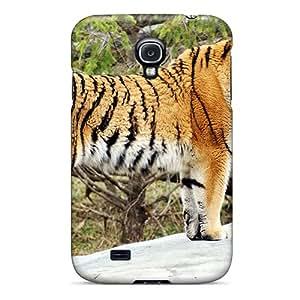 USbJa7496qXCbg Tiger Widescreen Hd Fashion Tpu S4 Case Cover For Galaxy