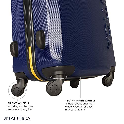 f67d3974b799 Nautica Hardside Spinner Wheels Luggage - 28 Inch Expandable ...