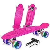 BELEEV Skateboard 22 inch Complete Mini Cruiser