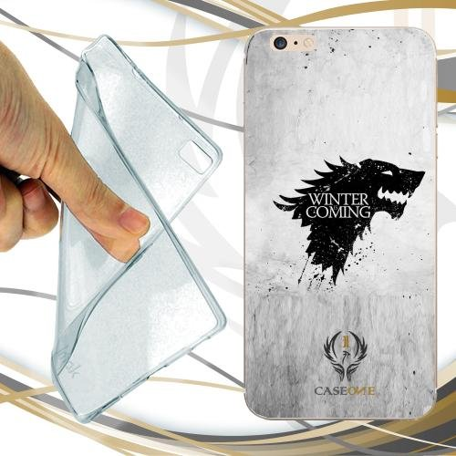 Caseone linea top CUSTODIA COVER CASE WINTER IS COMING inverno PER IPHONE 7
