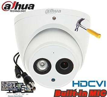 "Dahua HDCVI 1080P Cámara Audio Dome 1/2,7 ""2 megapíxeles CMOS"