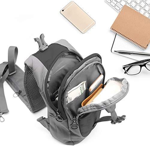 LC-Prime-Sling-Bag-RFID-Blocking-Tiny-Compact-Shoulder-Bag-for-Men-Women-Travel-Gym-Sport-Hiking-Nylon-Black