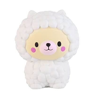 Anboor 5.1 Inches Squishies Sheep Bear Jumbo Kawaii Soft Slow Rising Scented Animal Squishies Stress Relief Kid Toys Gift: Toys & Games