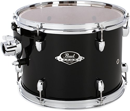 Pearl Export EXX Mounted Tom - 13 Inches X 9 Inches, Jet Black by Pearl