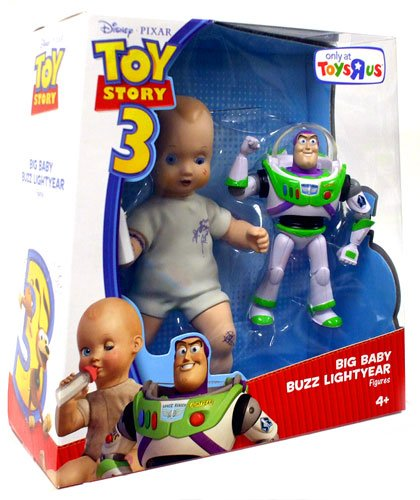 Image Unavailable. Image not available for. Color  DISNEY PIXAR TOY STORY 3  EXCLUSIVE DELUXE ACTION FIGURE BIG BABY AND BUZZ LIGHTYEAR a4ee02413e1