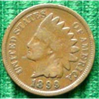 1899 U.S. Indian Head Cent /Penny