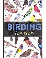 Birding Log Book: Bird Watching Journal Notebook For Beginners