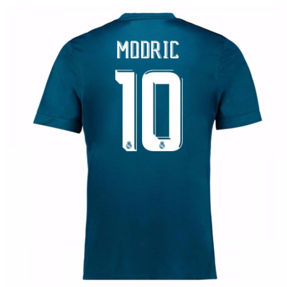 2017-18 Real Madrid Third Football Soccer T-Shirt Trikot (Luka Modric 10)