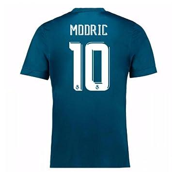 online retailer 2c747 c97f3 2017-18 Real Madrid Third Football Soccer T-Shirt (Luka ...