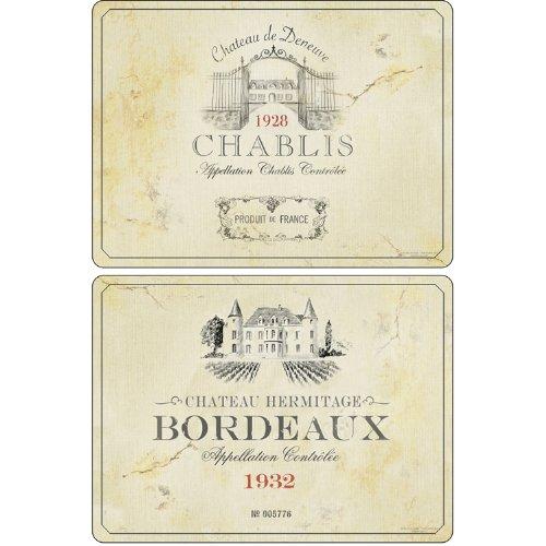 Pimpernel Placemats Set of 4 2010648262 Vin de France