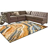 Marble Kids Carpet Play-mat Rug Colorful Rock Quartz Surface Background Formation Abstract Picture Room Home Bedroom Carpet Floor Mat 6'6