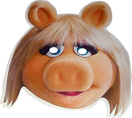 The Muppets - Miss Piggy - Card Face Mask -